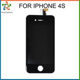Wholesale Original Iphone 4s Lcd Touch - 2016 AAA No Dead Pixel LCD Replacement Touch Screen Display For iPhone 4G 4s Original lcd Assembly Apple Digitizer Free Shipping