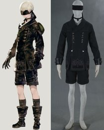 Wholesale Type Male Costumes - NieR Automata YoRHa No. 9 Type S cosplay costumes
