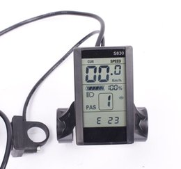 Wholesale Wiring Accessories Functions - Bafang S830 Electric Bicycle LCD Display BBS01 BBS02 BBSHD 1000W Part & Accessories
