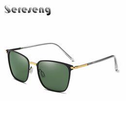 Wholesale Male Fashion Sunglasses - 2017 New Polarized Sunglasses Men Fashion Male Eyewear Sun Glasses UV400 Vintage Glasses Oculos De Sol P0864