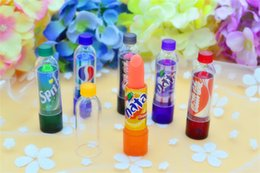 Wholesale Smackers Lip Balm - HOT Rainbow Color changeable cute Lip Balm cola Lipstick Wax Cup Lip Smacker Baby Lips Balm Brand Makeup Fullips Colour Magic