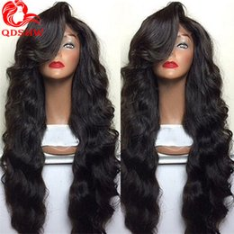 Wholesale Heavy Density Full Lace Wigs - Body Wave Human Hair Wigs For Women Heavy Density Body Wave Lace Front Wig Glueless Brazilian Body Wave Lace Wig With Baby Hair