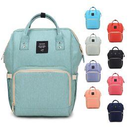 Wholesale Nappy Bag Travel - Mommy Bags Fashion Mother handbag Multifunction Diaper Maternity Backpacks Outdoor Desinger Nursing Travel Bags C2490