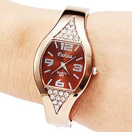 Wholesale Elegant Bangle Watch - diamonds watch bangle watches Bracelet Watch Elegant fashion ladies watches Exquisite simplicity