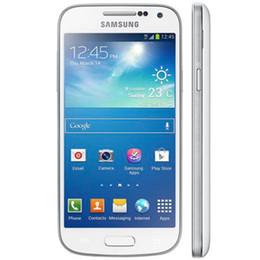 Wholesale Galaxy S4 Dual - Refurbished Samsung Galaxy Mini S4 I9195 4.3Inch 1.5G RAM 8G ROM 8.0MP Dual Core Unlocked Cell Phone