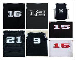 Wholesale Dry Goods - 2017 Sport Shirts 2 Kawhi Leonard Black White Grey Stitched Jersey #12 #16 #9 #21 Uniforms Good Quanlity Size S-XXL