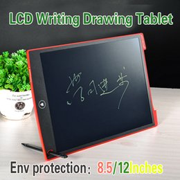 """Wholesale Tablet Pad For Pc - LCD Writing Tablet 8.5 Inch 12"""" Memo Whiteboard Kids Electronic Blackboard for School Children Drawing Playing Handwriting eWriter Pad 1 pcs"""