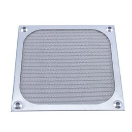 Wholesale Cooling Fan Filters - 120mm Fan Aluminum Dustproof Cover Dust Filter for PC Cooling Chassis Fan Grill Guard