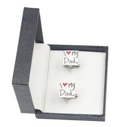 Wholesale Personalized Cufflinks - Jewelry Packaging & Display cufflink Necklace box Geometric square personalized customized design black mens logo print cufflink box lot