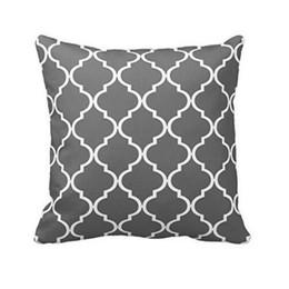Wholesale Simple Linen Cushion Cover - Wholesale- New Simple Linen Blend Pillow Case Soft Waist Throw Cushion Gray Cover Cojines Decorativos Pillow Case Vintage Pillow Case Cov