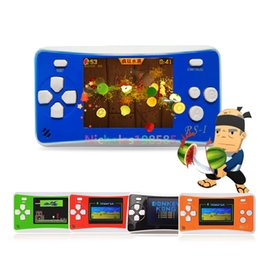 Wholesale Gba Box - High Quality RS-1 Handheld Game Consoles Mini Protable Color Video Game Children Gifts Classic Games Box