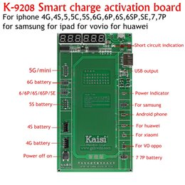 Wholesale Active Apple - K9208 for iPhone7 Plus 7 6s 6 5s 5 4s 4 for huawei for samsung ect Professional Battery Activation Board Plate Samrt charge active borad
