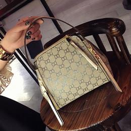 Wholesale Cell Phone Pillow Soft - Famous brand women handbag pu leather tote bag female classic Flowers prints shoulder bags ladies handbags messenger bag