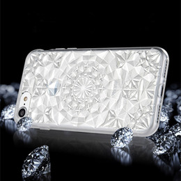 Wholesale Crystal Diamond Cases - New 3D Luxury Rhinestone Case Cover For Apple iPhone 6 6S 7 Plus 5 5S SE Crystal Diamond Hard Back Mobile Phone Case Cover Shine