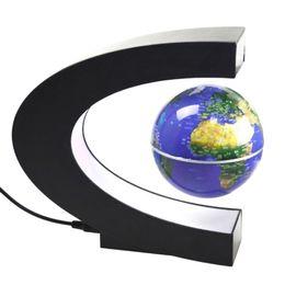 Wholesale Levitation Floating Globe - Decor Home Electronic Magnetic Levitation Floating Globe Antigravity with LED Light Gift Decoration Popular New