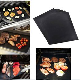Wholesale Outdoor Cook - BBQ Grill Mat Magic Mats Non Stick Grilling Backing Outdoor Plate Portable Easy Clean Outdoor Picnic Cooking Tool 40x33cm
