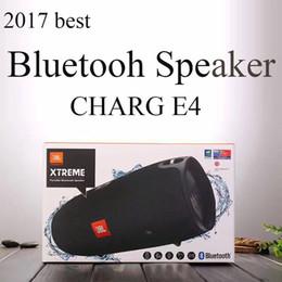 Wholesale Waterproof E4 - Shock Wave Speaker CHARG E4 Bluetooth Speaker Waterproof Double Vibration Film Subwoofer Card Speaker Outdoor Portable Bluetooth Speakers