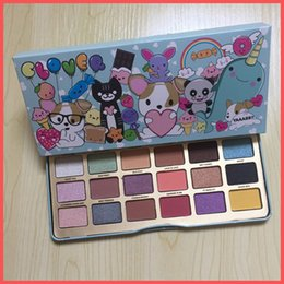 Wholesale Quality Makeup - Free Shipping by ePacket High Quality Makeup to face Clover Palette A Girl's Best Friend Eye Shadow 18 Colors Eyeshadow Matte Palette+Gifts