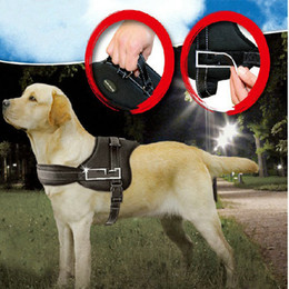 Wholesale Leather Dog Harness Vest - 1044# Wholesale Pet Products Dog Supplies Dog Harness Vest Harness Strongly For Large Dog