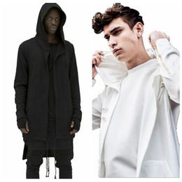 Wholesale Men Special Design Coat - Wholesale-Men's Hoodie Sweatshirt New Special Design Spring Autumn Brand Men Solid Hoody Cardigan Outerwear Oversize Loose Fit Coat M-3XL