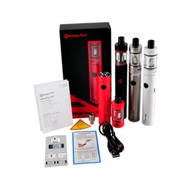 Wholesale Ectronic Cigarette - Wholesale- original Kangertech Subvod Mega TC Kit with toptank mini atomizer ectronic cigarette vape with 4ml topfill tank 2300mah battery