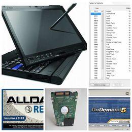 tela de toque audi Desconto Alldata 10.53 auto reparo Soft-ware mitchell atsg 2017 todos os dados 1000GB HDD instalado x200t laptop touch screen pronto para uso