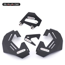 Wholesale Brake Caliper Covers Front - For BMW R1200GS LC Adv 13-16, R1200R R1200RS 15-16 Motorcycle Aluminum Front & Rear Brake Caliper Cover Guard