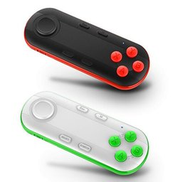 Wholesale Remote Pc Iphone - Wireless Bluetooth Gamepad VR Remote Mini Bluetooth Game Controller Joystick For IPhone IOS Xiaomi Android Gamepad For PC VR Box