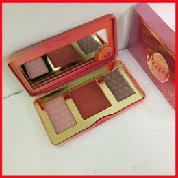 Wholesale Female Smell - Hot New IN STOCK!!High Quality 3 Color Blush Sweet Peach Glow Smell Like Peashes!!Free Shipping