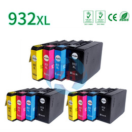 Wholesale Ink Cyan - 12*Ink Cartridges HP932XL 933XL 3*Black 3*Cyan 3*Yellow and 3*Magenta Compatible for OfficeJet 7110 7610 7612 7512 6100 6600 printer