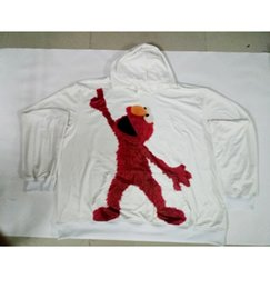 Wholesale Elmo Hoodies - Real USA Size Dancing Elmo 3D Sublimation print custom made Hoody   Hoodie Plus Size