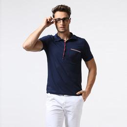 Wholesale Polo Sports Wear - 2017 Mens Polo Shirt Street Wear Short Sleeve Sport Polo B38