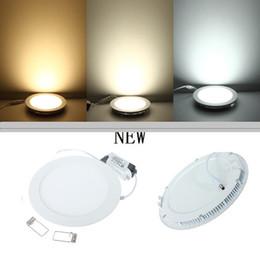 farbe wechselbares glas Rabatt Ultra helles 9W 12W 15W 18W 20W 30W führte Decke vertiefte runde / quadratische Instrumententafel-Leuchte 2800Lm geführte Instrumententafel-Birnen-Lampen-Licht CER