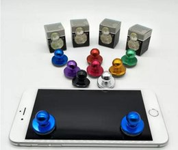 Wholesale Mini Joystick Game Controller - Black Small Size Stick Game Joystick Joypad For Touch Screen Cell phone Best Selling Mini Joystick with free shipping