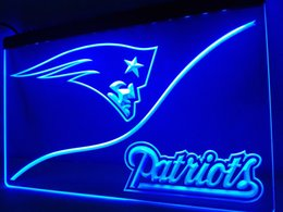 Wholesale England Patriots - LD507b- England Patriot LED Neon Light Sign