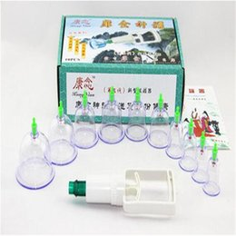 Wholesale Wholesale Medicine Cups - Vacuum cupping, 10 cans of household magnets hands cupping suction type of traditional Chinese medicine Beauty