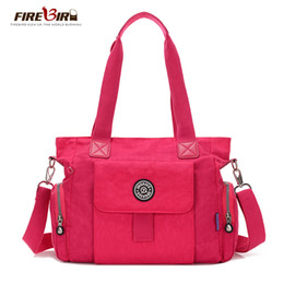 Wholesale Waterproof Promotional Bags - Wholesale-2016 Promotional Handbags Waterproof Nylon Shoulder Messenger Vintage Ladies Casual Monkey pendant Ladies Handbag bolsos HL12