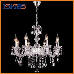 Wholesale Antique Art Deco - For Foyer living room bedroom dinning room lucid modern vintage 110V 120V 220V 240V transparent antique crystal chandelier