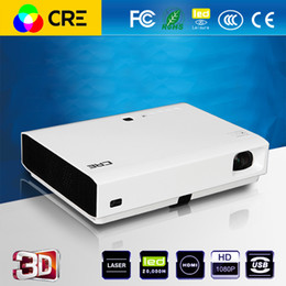 Wholesale Cheapest Full Hd Projector - Wholesale-Cheapest cre x3000 3000 ANSIlumen full HD 1080p android wifi LED laser video projector,perfect home theater business projector