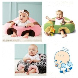 Wholesale Infant Seat Support - 14 Styles Baby Support Seat Plush Soft Baby Sofa Infant Learning To Sit Chair Keep Sitting Posture Comfortable For Newborn CCA8155 10pcs