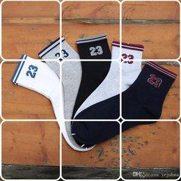 Wholesale Men Cotton Socks Price - Wholesale Fashion Men's Sports Socks Cheap Price Cotton Deodorant Running Socks Men Fits Free Size Free Shipping