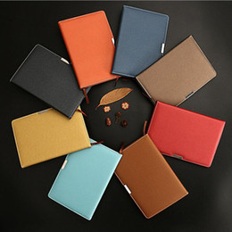 Wholesale Leather Notebooks For Men - 100 Sheets A5 Size Business Notebook Notepad Journal Diary Planner Notepad for Men Women Students Kids, School Office Stationery
