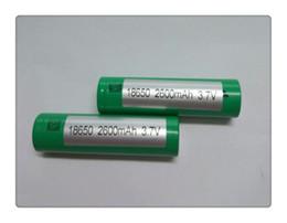 2019 cajas de energía solar 2017 Batería de litio de perfecta calidad VTC3 VTC4 VTC5 18650 batería para e cigarrillo mod e cigarrillo 18650 3.7 V 1600mAh 2100mAh 2600mAh envío de DHL