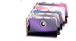 Wholesale Faux Leather Wallets For Women - 2016 Brand New PU Faux Leather Women Long Purse Zipper Wallet Phone Case Designer Gradient Color Purses For Women