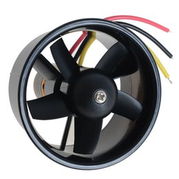 Wholesale Brushless Motor Freeship - 320W 4500KV Brushless Motor Model Airplane Fan 5- Blade 64mm Outrunner Ducted Wholesale Drop free shipping