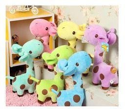 Wholesale Wholesale Giraffe Plush - Plush Giraffe Soft Toys Animal Dear Doll Baby Kids Children Birthday Gift 1pcs