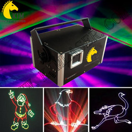 Wholesale Ilda Analog - 1.5W ILDA analog RGB laser with SD card laser beam and animation analog modultion 30k galvo RGB analog laser pub lights