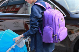 Wholesale Tennis Mom - Mommy Backpack Brand Mom Nappies Bags Fashion Mother Backpack Diaper Maternity Backpacks Large Desinger Nursing Outdoor Travel Bags