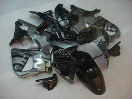 Wholesale Cbr 919 Fairings - Plastic Fairings CBR 919 1998 Fairing Kits CBR 919RR 98 Silvery Black Bodywork CBR900 919 1999 1998 - 1999