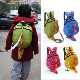 Wholesale Dinosaur Backpacks - The Good Dinosaur Bags Kids Cartoon Arlo Anti Lost School Bags Children Dinosaurs Backpack Boys Animals Dinosaurs Book Bags Fashion G206